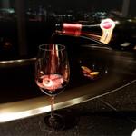 ステーキハウス オリエンタル - 赤ワインもおすすめの物を
