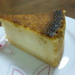cafe N44 - ベイクドチーズケーキ400円
