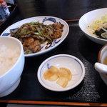 四季 - 豚の黒胡椒炒め