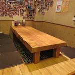 たいちゃんⅢ - 堀ごたつ風のテーブル