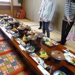 落石釣堀 - 料理写真:内部の様子
