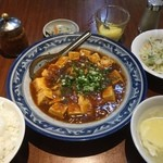 匯豐齋 - 麻婆豆腐ランチ950円