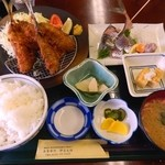 Izunosuke - あじ・アジ定食(980円)
