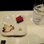 日本料理 いいじま - 鮑&牛