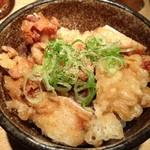 49053625 - セット丼(鶏天丼)②