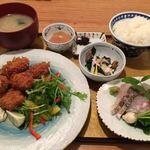魚肴おばんちゃい - カキフライ定食