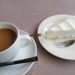 レストラン杉並 - 料理写真:ケーキセット750円