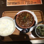 49055885 - 国産和牛スジ肉のビーフシチュー膳、1,000円