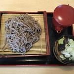 そば太郎 - ざる蕎麦、500円です。
