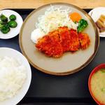 ぶなの木 - ロースカツ定食