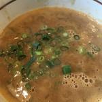 麺処 湧光 - 濃厚海老つけ麺(つけ汁)