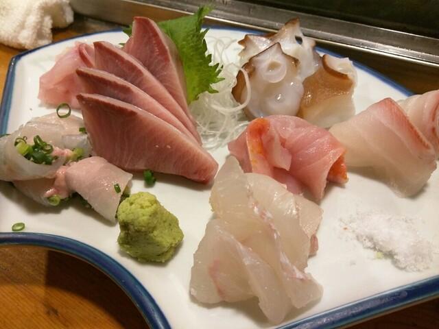 天史朗寿司 - 刺し身盛合せ