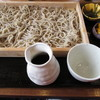 Teuchisobajidoriryourihanabi - 料理写真:板そば1000円。