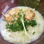 鶏寅 - 白湯あぶり鶏ラーメン
