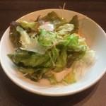 kawaramachibambi - サラダ ※白い麻婆丼ランチ
