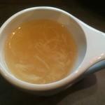 kawaramachibambi - スープ ※白い麻婆丼ランチ