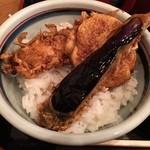 長寿庵 - ミニ天丼