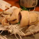 寿し富 - ぷりっぷりの岩ガキ