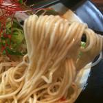 49060668 - 自家製 細ストレート麺 (-_^)v