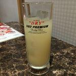 焼肉ダイニング白李 燦 - グレープフルーツジュース