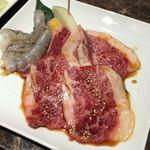 焼肉ダイニング白李 燦 - 牛ロース