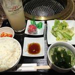 焼肉ダイニング白李 燦 - 焼肉ランチ