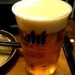 かき殻荘 - 「生ピール(¥490)」