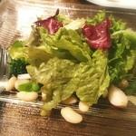オステリア ラストリカート - 2016.03  いろいろ野菜のサラダ