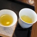 茶茶の間 - 器を変えてお茶を。味が変わる。
