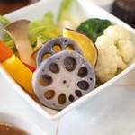 茶茶の間 - 温野菜あっぷ