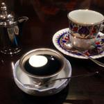 ぶな - サービスのコーヒーゼリー
