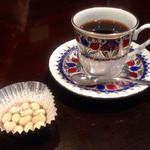 ぶな - ブレンドコーヒー サービスの豆菓子