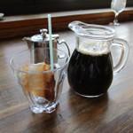 カフェ・ド・クレプスキュール - アイスコーヒー