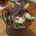 49068982 - 京都の豆乳を使った豆腐サラダ