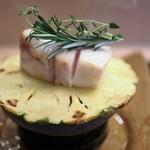 京懐石 吉泉 - 尾長鯛の焼き物