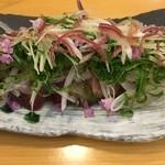佐久寿司 - しめ初カツオ 水分を引き締めてある