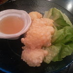 空 - 松笠イカのさっぱりレモンソース