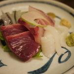 千里十里 - 料理写真:刺身の五種盛り