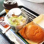 マクドナルド - フィレオフィッシュのモーニング520円