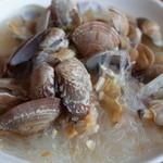 鴻星海鮮酒家 - あさりと春雨の漁師風スープ煮(小)