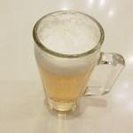 オリーブの丘 - 生ビールと・・・