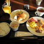 49074754 - 朝食ビュッフェ。