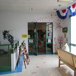 カフェ はぴはぴ - 店舗入口(2016/03/27撮影)
