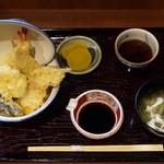 にしかわ - 天丼(並)