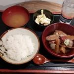 49077780 - 和牛 牛スジ煮込み定食(ランチ)