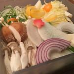 びじんや - 野菜盛り合わせ