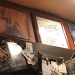 居酒屋 公樹 - 選手の写真やサインがたくさん