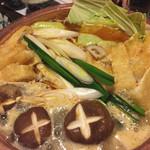 隠れ家めん坊 - 料理写真:ラーメン鍋