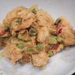 グッドミート・バル - 春野菜とサルッチャの栗カボチャサラダ\680