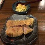 旬菜 喜いち - ビフカツ